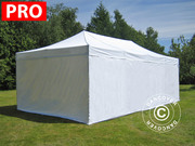 Folding canopy 4x8 m Pro Pack,  incl. 6 sidewalls,  white