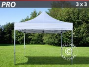 Folding canopy FleXtents Pro 3x3 m,  white