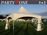 Pagoda Marquee PartyZone 3x3 m PVC