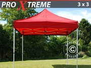 Flextents Pro Xtreme 3x3 m,  Red