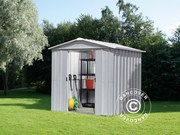 Garden shed 2, 02x1, 37x1, 89 m Silver