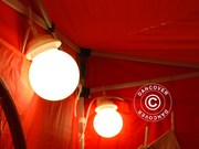 Globelight chain 6 lamps of 25 watts