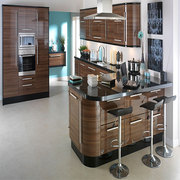Apollo Walnut Gloss Kitchen Doors 283 x 495 mm for Sale