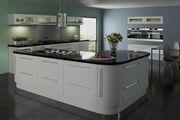 Lumi Dove Grey Gloss Kitchen Doors | Made to Measure Doors | Topdoors