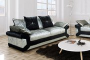 Acquire Stylish Velvet Fabric 3 Seater Sofa At Affordable Price