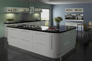 Lumi Dove Grey Gloss Kitchen Doors & Drawer Fronts | Made to Measure