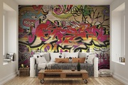 Shop For Beautiful City Graffiti Wallpaper At Affordable Price