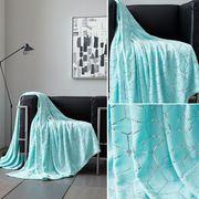 Modern Metallic Cube and star Sofa blanket for sale